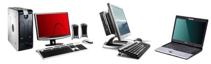 Point de vente matériel informatique